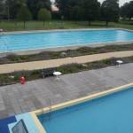 zwembad waterdan beplanting vooraf